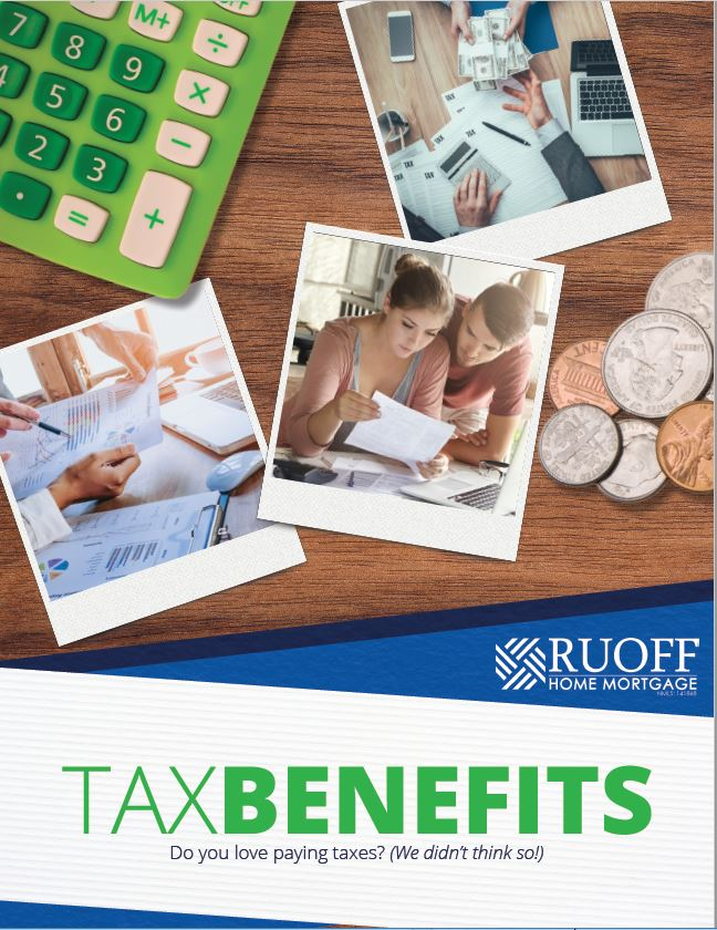 Ruoff Home Mortgage's Free Tax Benefits E-book